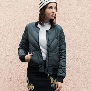 Lole Livia Packable Bomber Down Jacket Small